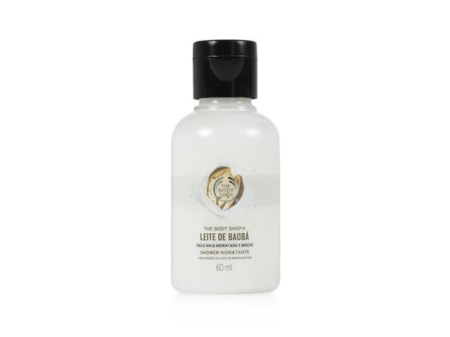 Mini Hidratante Corporal The Body Shop Shower Leite de Baobá 60ML