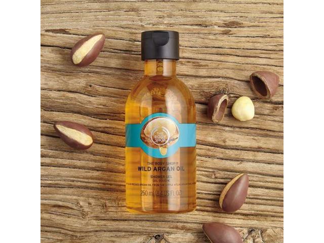 Gel de Limpeza The Body Shop Argan 250ML - 2