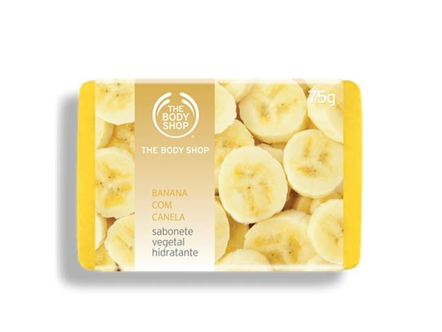 Sabonete The Body Shop Banana com Canela 75G - 1