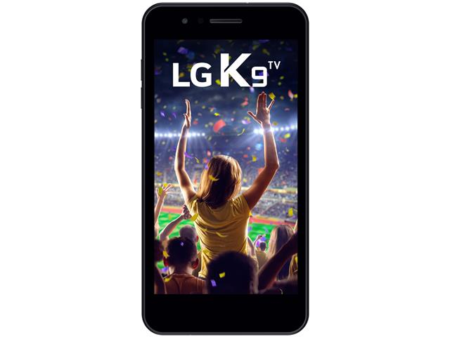 "Smartphone LG K9 TV Digital Dual Chip Tela 5"" 16GB 4G Câmera 8MP Preto - 1"