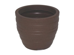 Vaso Inca Tramontina Basic em Polietileno 24 cm Terracota