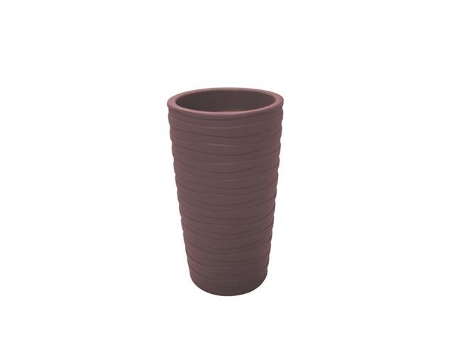 Vaso Grego Tramontina em Polietileno 65 cm Terracota