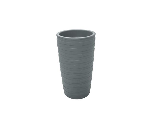 Vaso Grego Tramontina em Polietileno 65 cm Cimento