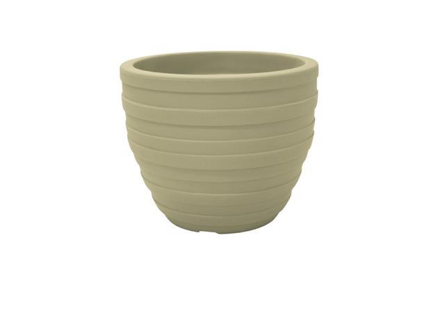 Vaso Inca Tramontina em Polietileno 38 cm Areia