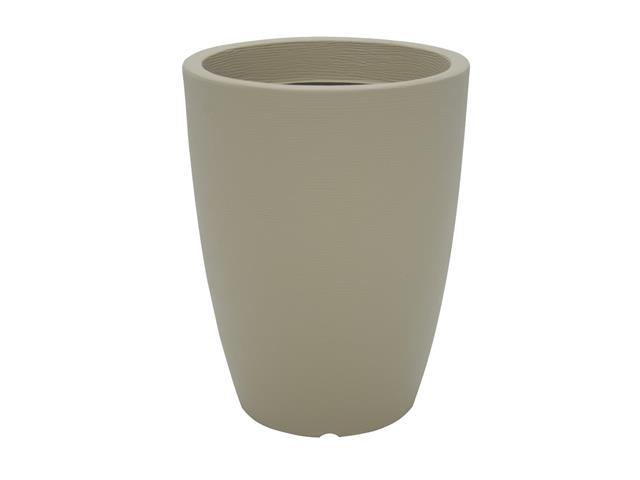 Vaso Thai Tramontina Basic em Polietileno 58 cm Bege