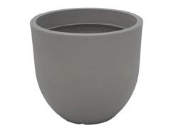 Vaso Laos Tramontina Basic em Polietileno 45 cm Concreto