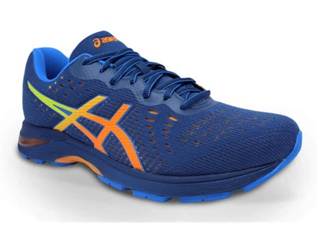 Tênis Asics Gel-Kihai Mako Blue/Shocking Orange Masculino