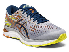 Tênis Asics Gel-Cumulus 21 Shine Sheet Rock/Mako Blue Masculino - 0