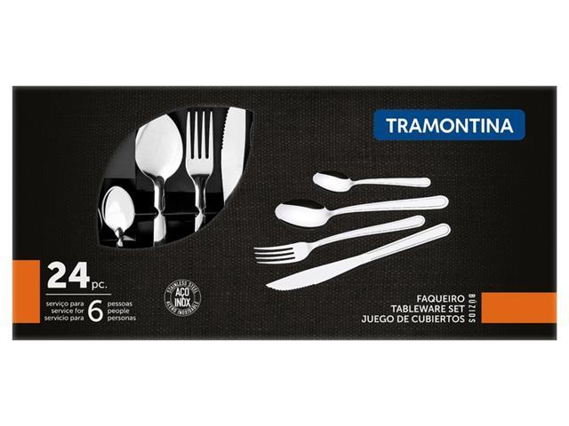 Faqueiro Tramontina Buzios Inox 23799071 - 24 peças - 3