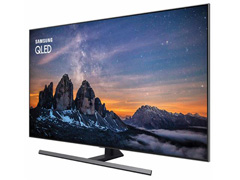 "Smart TV QLED 55""Samsung UHD 4K Pontos Quânticos Q80R HDR 4HDMI 240Hz - 1"