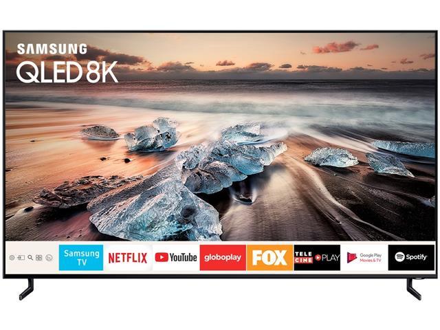 "Smart TV QLED 65""Samsung UHD 4K Pontos Quânticos Q900R HDR 4HDMI 240Hz - 1"