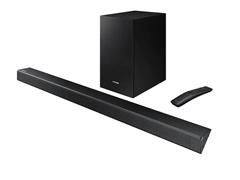 Soundbar Samsung 2.1 Canais 320W Bluetooth e Subwoofer Sem Fio R550