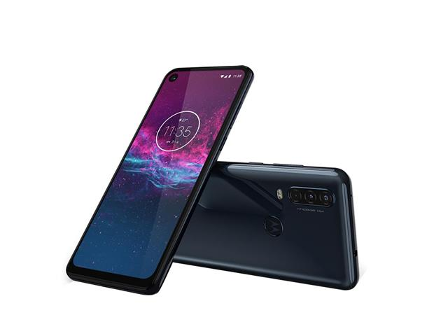 "Smartphone Motorola One Action 128GB 6.3"" 4G Câm 12+5+16MP Azul Denim - 2"