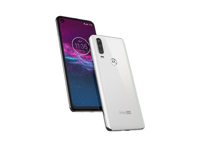 "Smartphone Motorola One Action 128GB 6.3""4G Câm 12+5+16MP Branco Polar - 5"