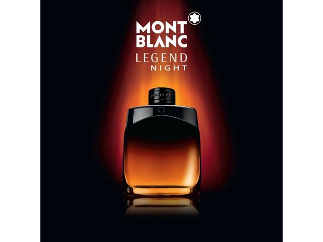 Perfume Montblanc Legend Night  Masculino Eau de Parfum 30ml - 3