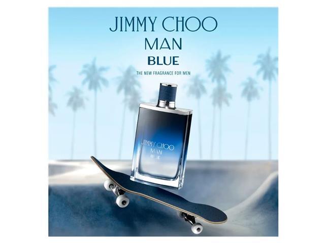 Perfume Jimmy Choo Blue Masculino Eau de Toilette 50ml - 3