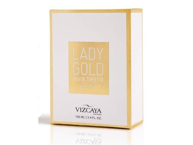 Perfume Vizcaya Lady Gold Feminino Eau de Toilette 100ml - 2