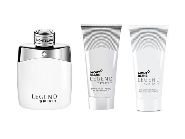 Kit Montblanc Legend Spirit Perfume EDT Pós Barba e Gel de Banho 100ml