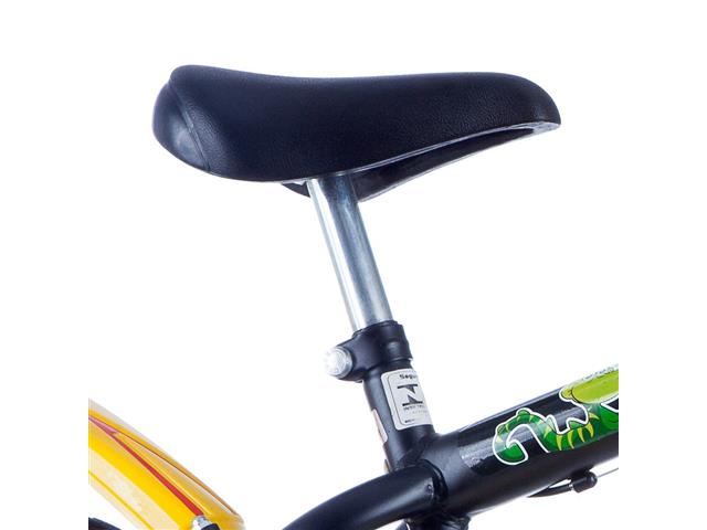 Bicicleta Infantil Track Bikes Dino Aro 16 Preta - 1
