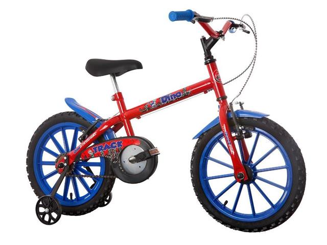 Bicicleta Infantil Track Bikes Dino Aro 16 Vermelha