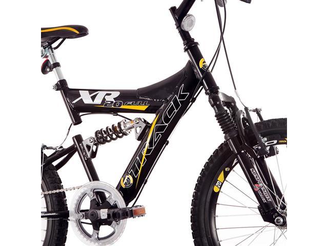 Bicicleta Track Bikes XR20 Full Aro 20 Preto e Amarelo - 2