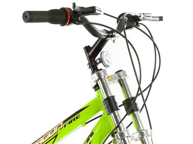 Bicicleta Track Bikes Dragon Fire 18V Aro 24 Verde Limão - 1