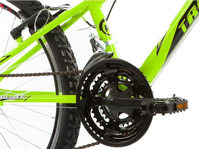 Bicicleta Track Bikes Dragon Fire 18V Aro 24 Verde Limão - 5