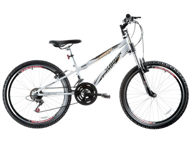 Bicicleta Track Bikes Dragon Fire 18V Aro 24 Branca