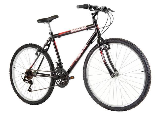 Bicicleta Track Bikes Thunder 18V Aro 26 Preta
