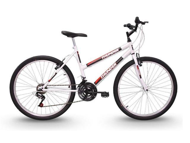 Bicicleta Track Bikes Thunder 18V Aro 26 Branca