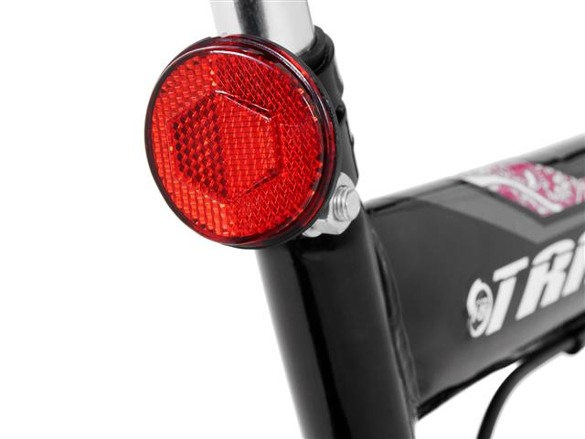Bicicleta Track Bikes TB 200 Mountain Bike Aro 26 Preta e Rosa - 5