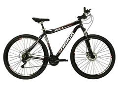 Bicicleta Track Bikes TB TKS Mountain 21V Shimano Aro 29 Preta