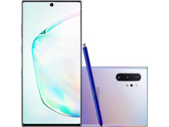 "Smartphone Samsung Galaxy Note 10+ 4G 6.8"" 256GB 12GB 12+16+12MP Prata"