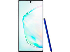 "Smartphone Samsung Galaxy Note 10+ 4G 6.8"" 256GB 12GB 12+16+12MP Prata - 1"