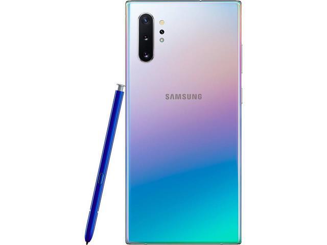 "Smartphone Samsung Galaxy Note 10+ 4G 6.8"" 256GB 12GB 12+16+12MP Prata - 5"