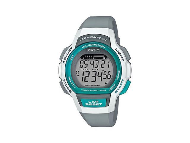 Relógio Digital Casio Standart Branco e Cinza LWS-1000H-8AVDF