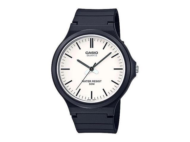 Relógio Analógico Casio Standart Preto e Branco MW-240-7EVDF