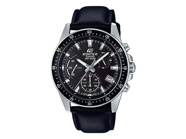 Relógio Analógico Casio Edifice Masculino Preto EFV-540L-1AVUDF