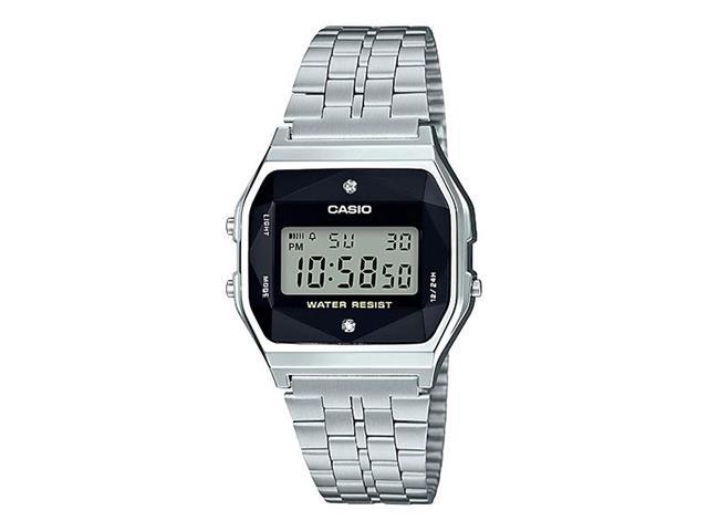 Relógio Digital Casio Vintage Cromado A159WAD-1DF