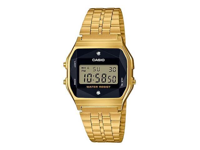 Relógio Digital Casio Vintage Dourado A159WGED-1DF