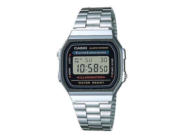 Relógio Digital Casio Vintage Cromado A168WA-1WDF