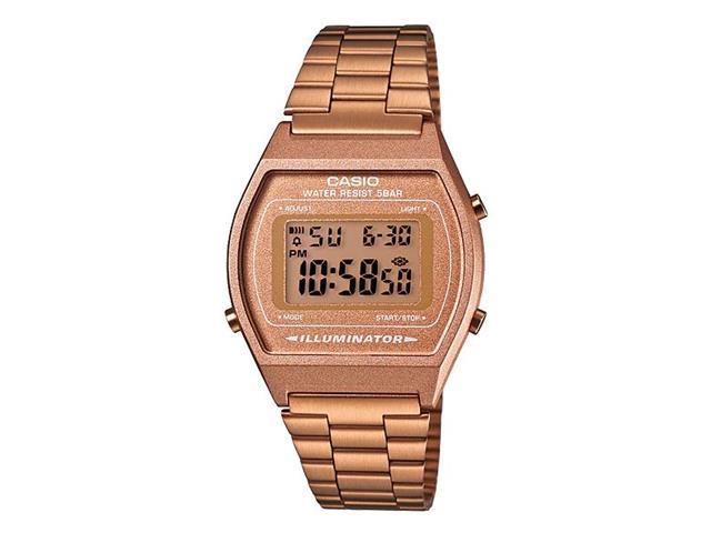 Relógio Digital Casio Vintage Rosé B640WC-5ADF