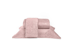Colcha de Casal Buettner Micromink Lotus Rosê Claro - 1
