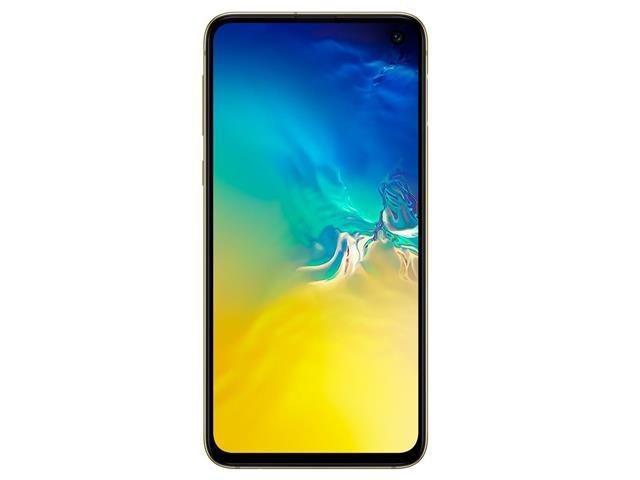 Smartphone Samsung Galaxy S10e 128GB Amarelo+Relógio Mormaii Fit - 1