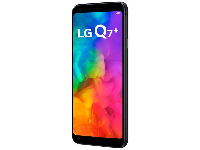 "Smartphone LG Q7+ 4G 64GB Dual Chip Tela 5.5"" Câmera 16MP+5MP Preto - 3"