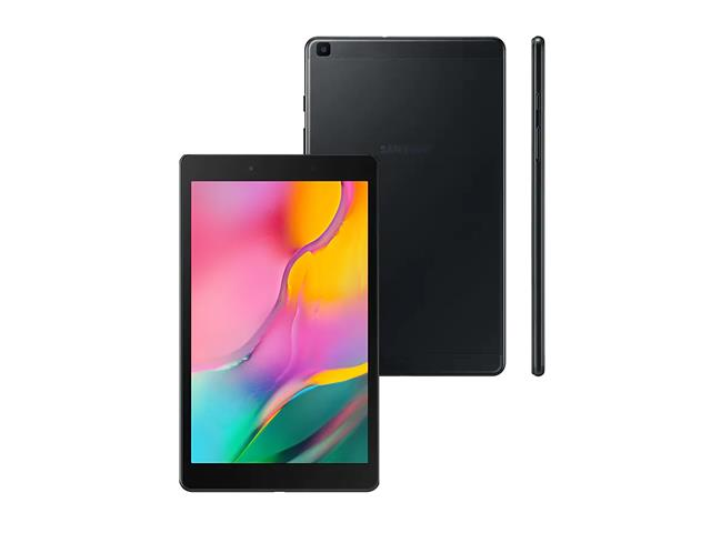 """Tablet Samsung Galaxy Tab A 8"""" Wi-Fi 32GB 2GB RAM Câm 8MP AF+2MP Preto - 2"""