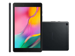 """Tablet Samsung Galaxy Tab A 8"""" Wi-Fi 32GB 2GB RAM Câm 8MP AF+2MP Preto"""