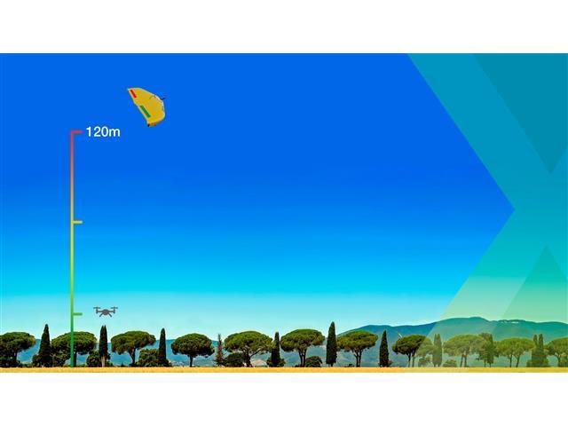 Drone XMobots Arator 5B Grãos BVLOS RTK HAL L1 L2 Voo acima de 120m - 6