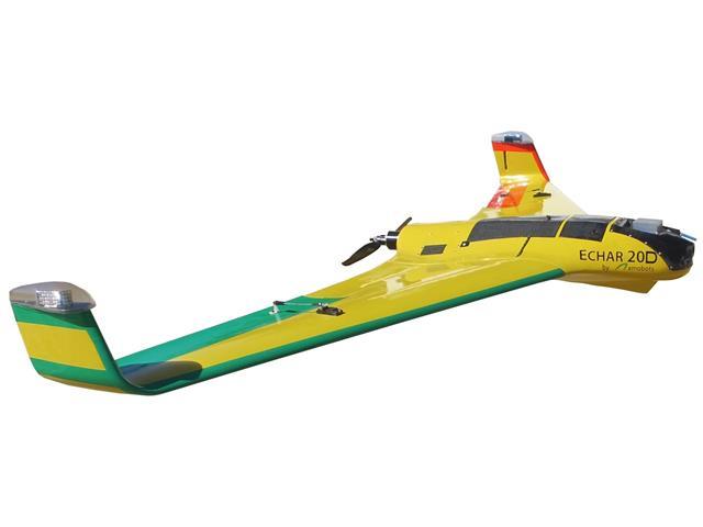 Drone XMobots Echar 20D Grãos BVLOS RTK HAG L1 L2 L5 Voo acima de 120m