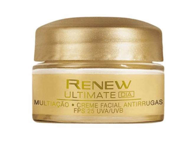 Combo Avon Renew Máscara, Antirrugas Dia e Noite e Necessaire Dourada - 3